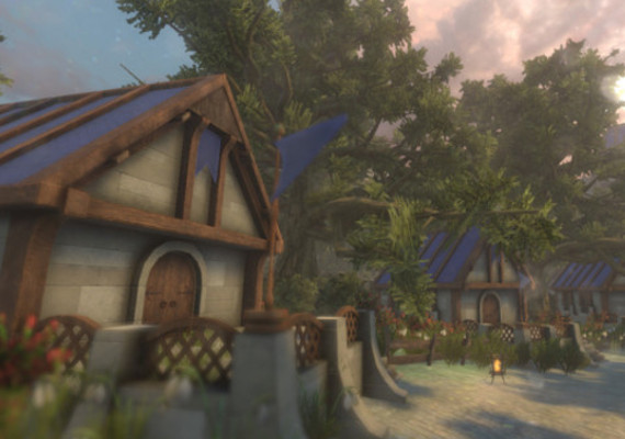 A Human settlement developed for the Unity Asset Store.