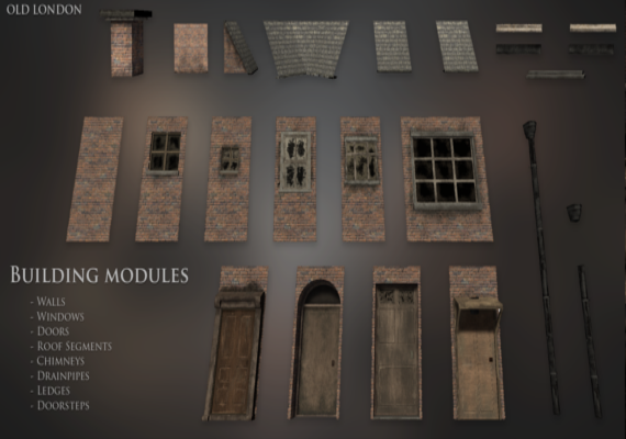 House building modules.